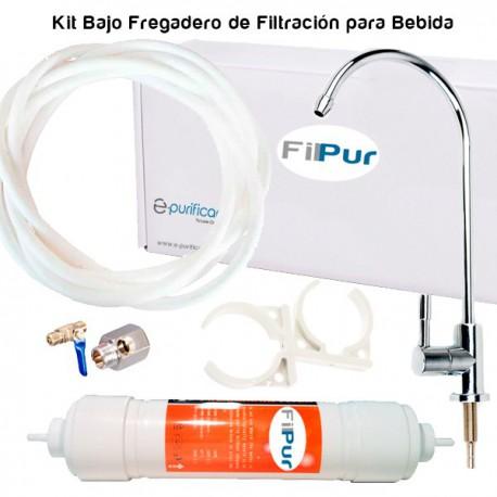 FILPUR Kit di filtrazione dell'acqua potabile sotto il lavandino - 1