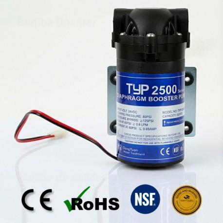Pompa booster per osmosi inversa domestica 50 GPD