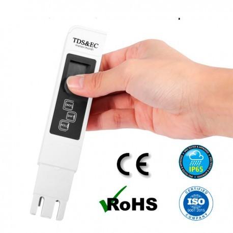 TDS meter, elettroconduttività e temperatura dell'acqua - 1