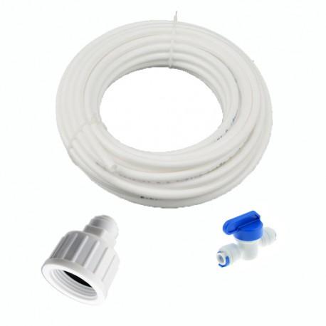 """Kit di collegamento acqua per osmosi inversa 3/8 """""""